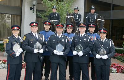 Récipiendaires du prix d'excellence 2008