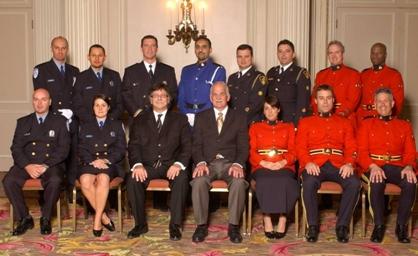 Récipiendaires du prix d'excellence 2007